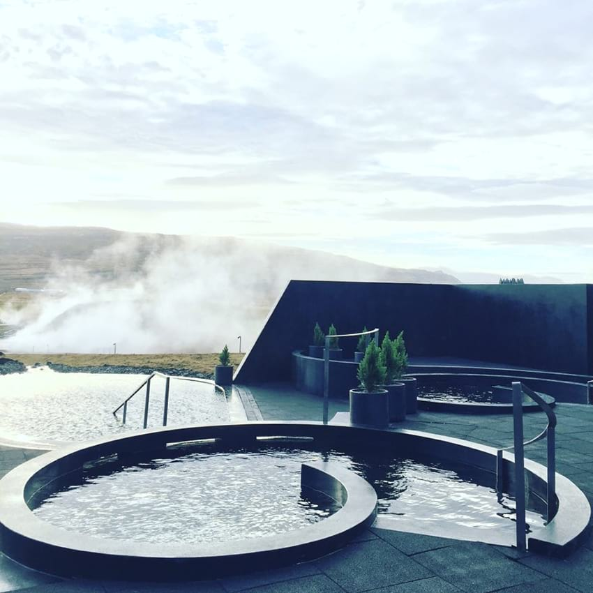 Iceland Swimming pool hot tub Krauma