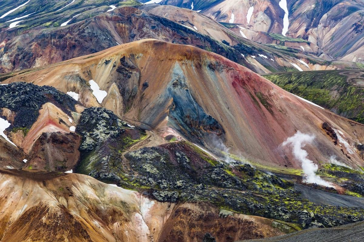 Landmannalaugar is one of the most photogenic areas in Iceland