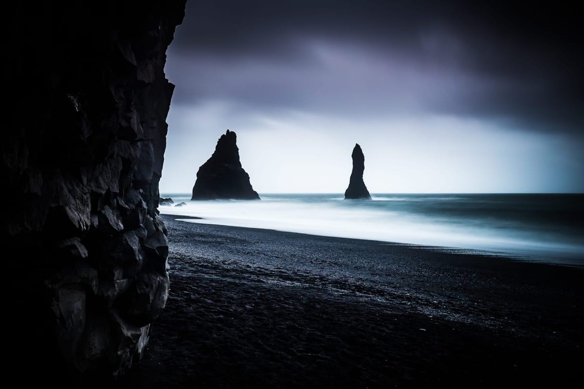 Reynisfjara and Reynisdrangar are a popular destination but beware of the sneaky waves