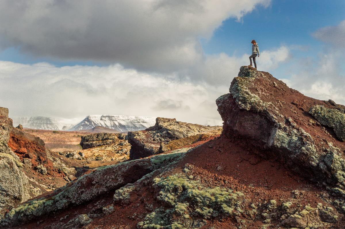Heidmörk nature reserve - hiking near Reykjavík