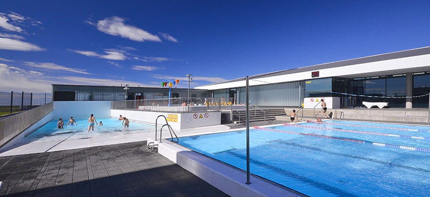 Iceland Swimming Pool Alftaneslaug