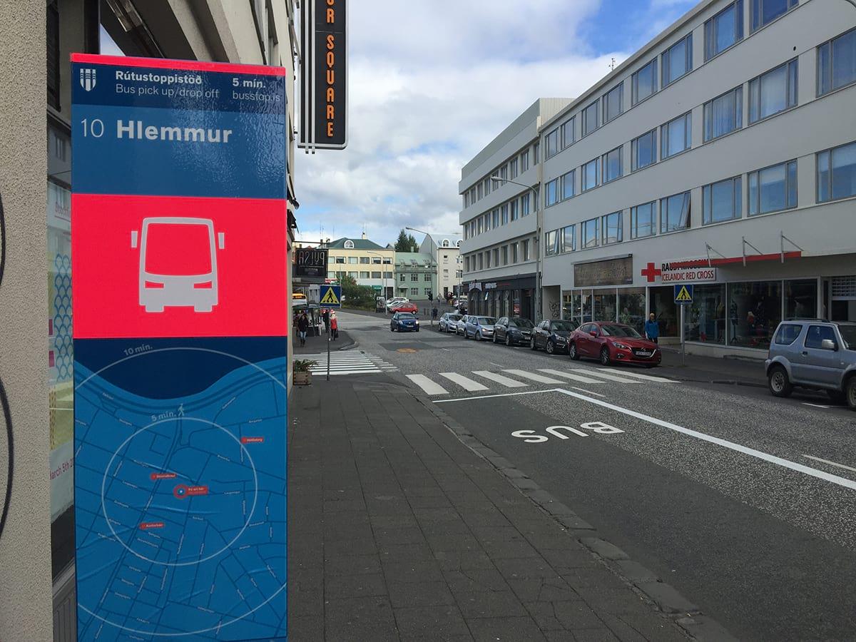 Bus stop 10 Hlemmur