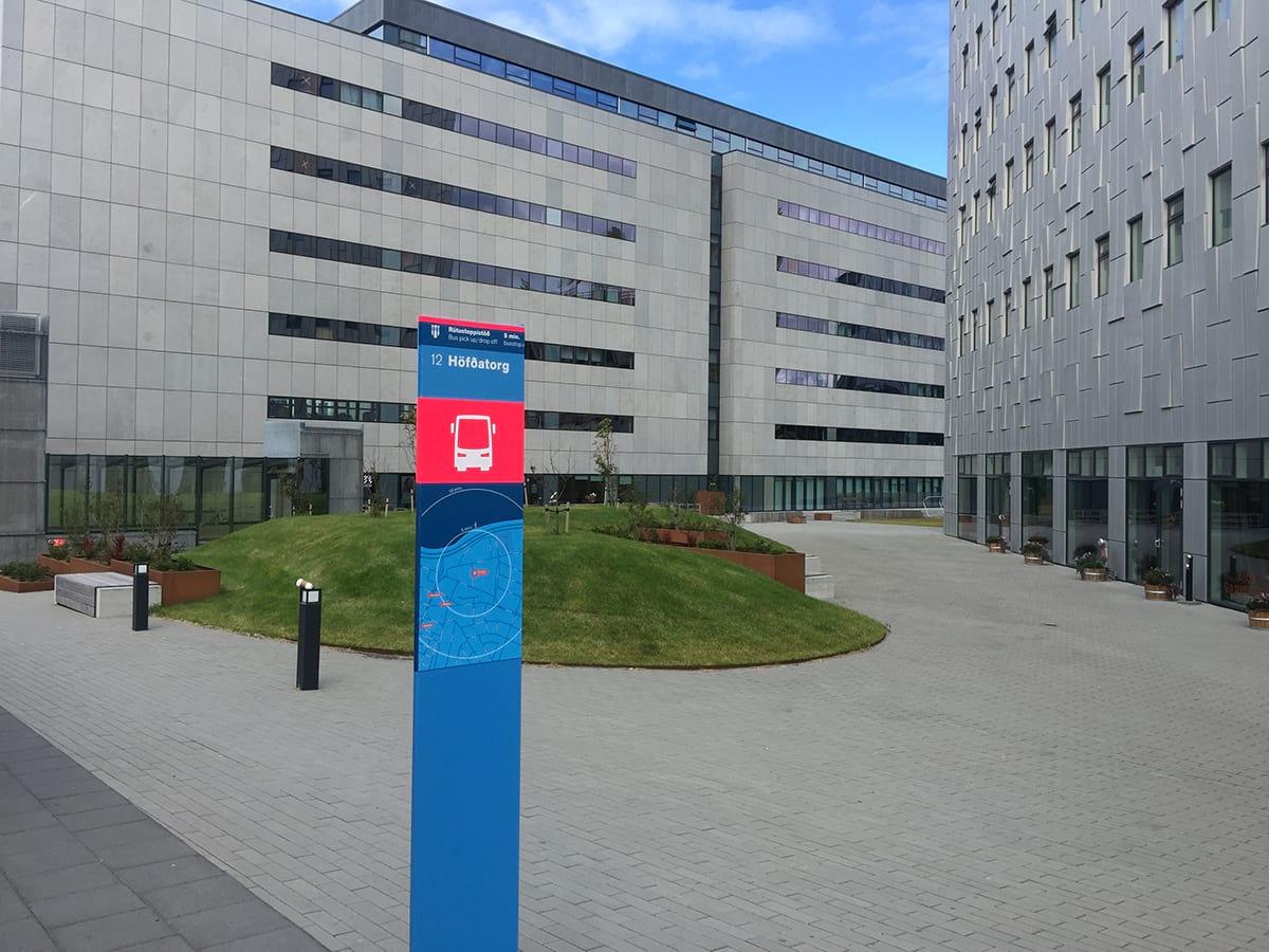 Bus stop 12 Höfðatorg
