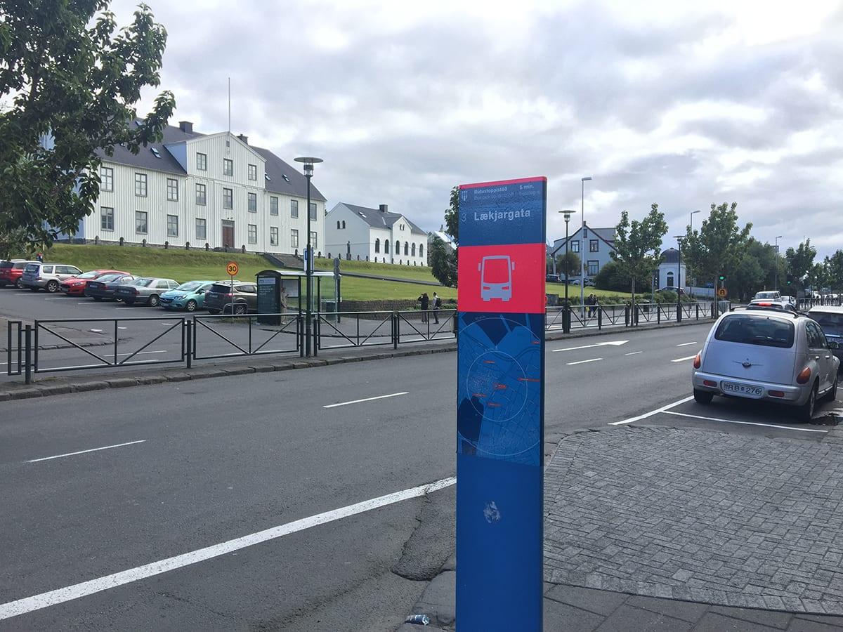 Bus stop 3 lækjargata