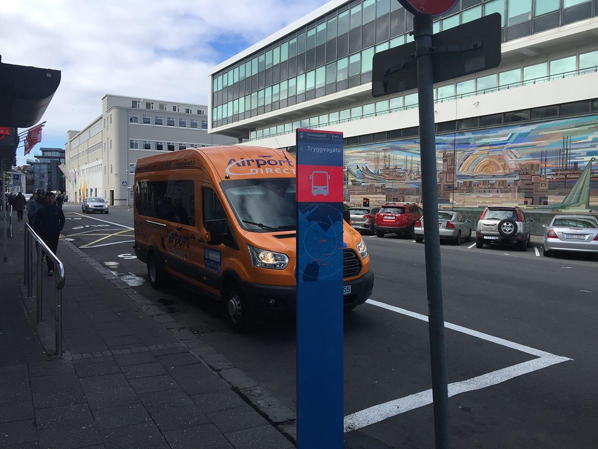Bus stop 4 Tryggvagata