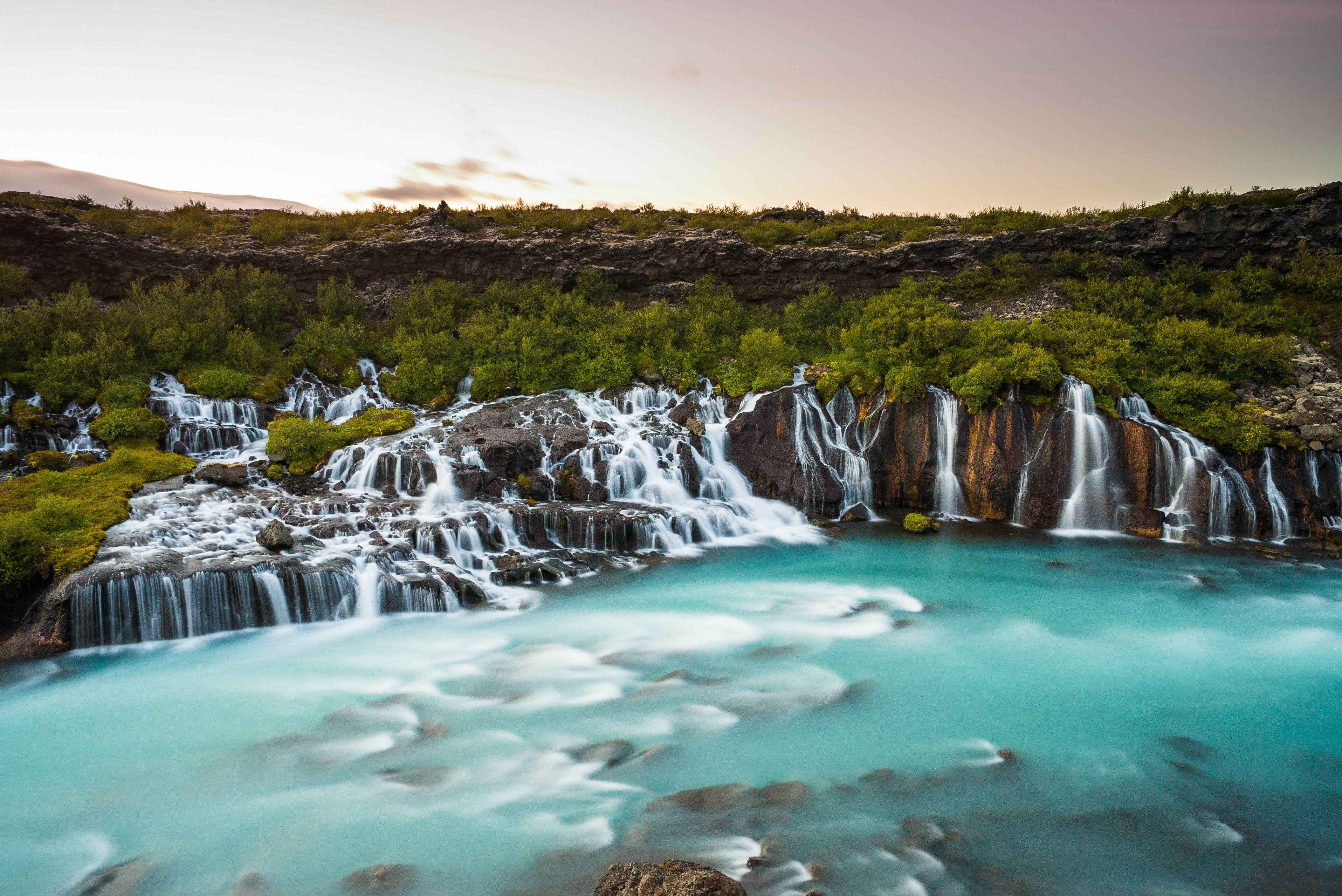 Hraunfossar, things to do in Iceland