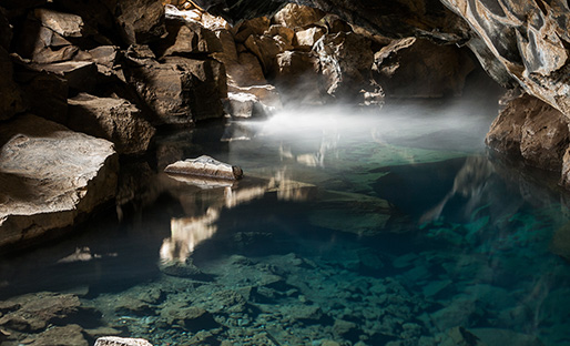 Ice Caves and Lava Caves in Iceland
