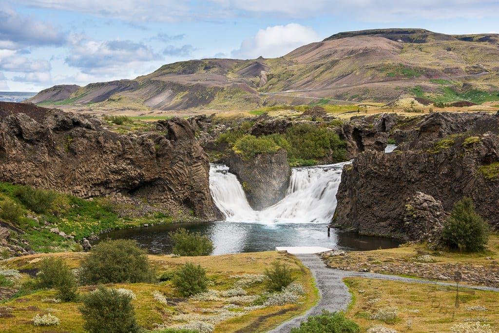 Hjálparfoss, Trips to Iceland