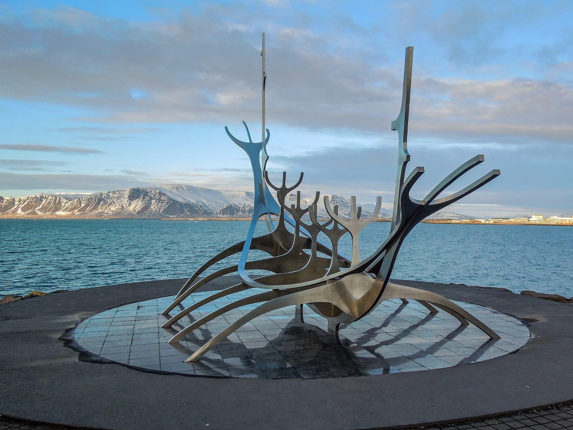 Sun Voyager statue Reykjavik