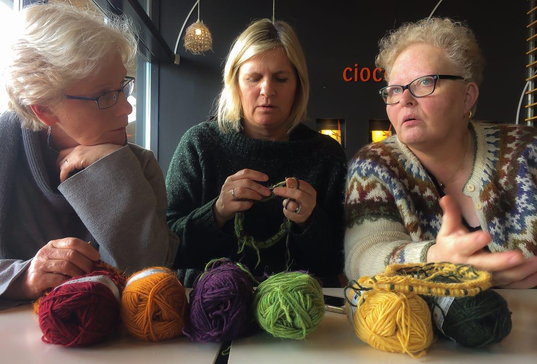 Icelandic sweater knitting workshop