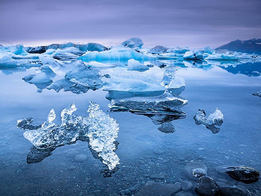 Jökulsárlón Glacier Lagoon South Coast Iceland