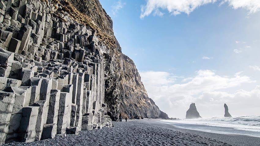 Reynisfjara black sand beach South Coast Iceland