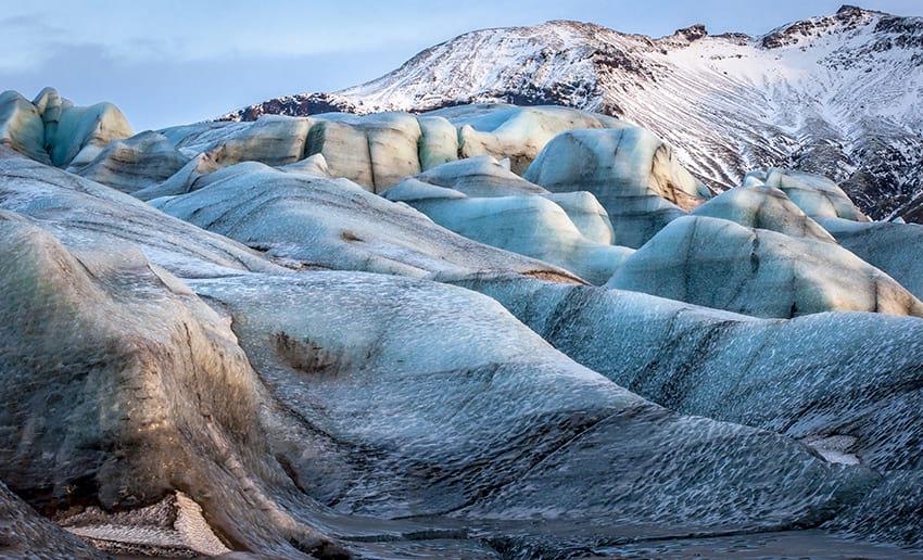 Vatnajökull glacier South Iceland