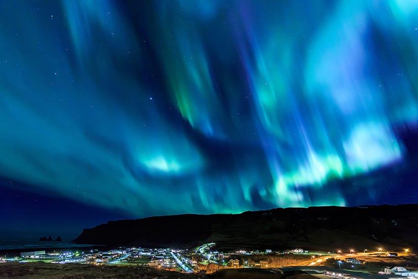 Vík í Mýrdal town South Coast Iceland