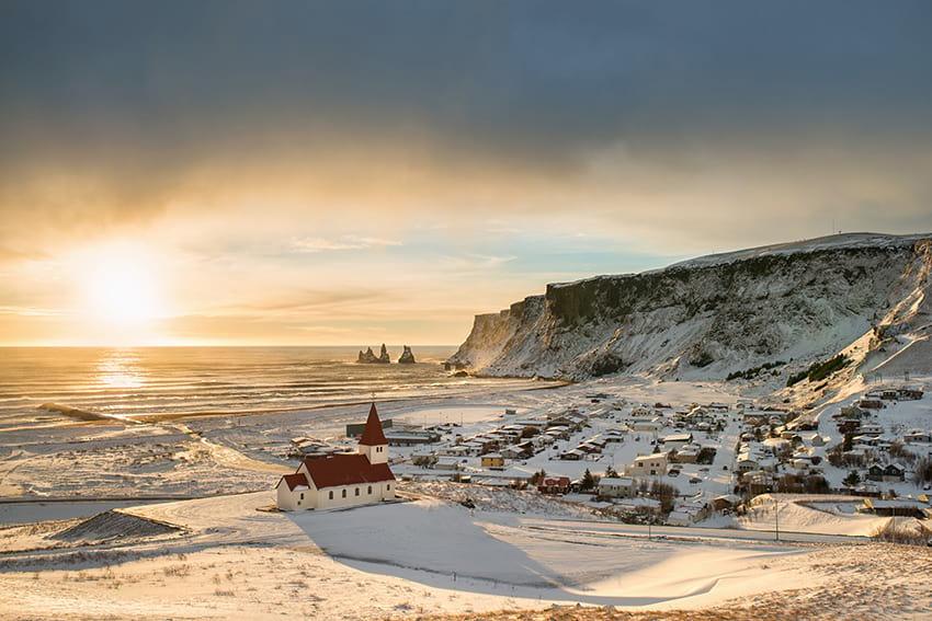 Vík South Coast Iceland