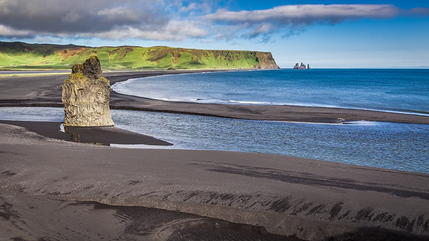 View from Dyrhólaey South Coast Iceland