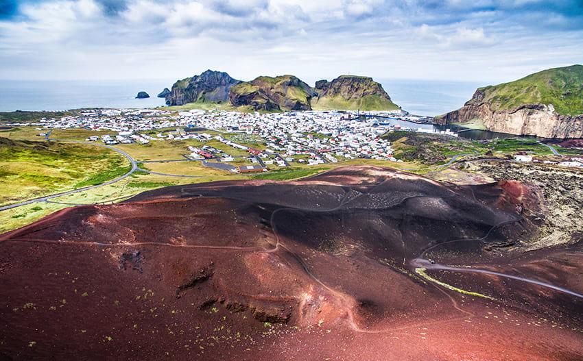 Vestmannaeyjar Westman Islands South Coast Iceland