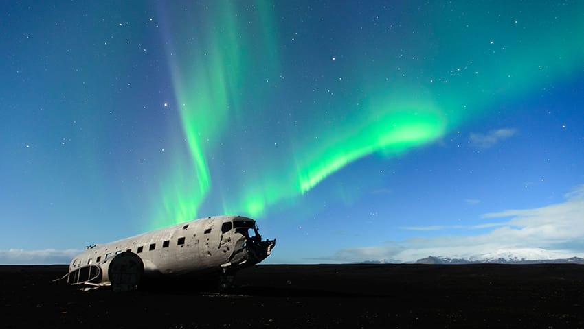 Sólheimasandur South Coast Iceland Plane crash