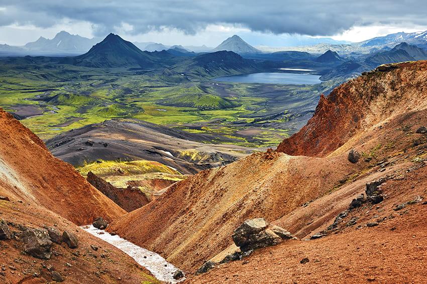 Landmannalaugar Thorsmork Highlands South Iceland