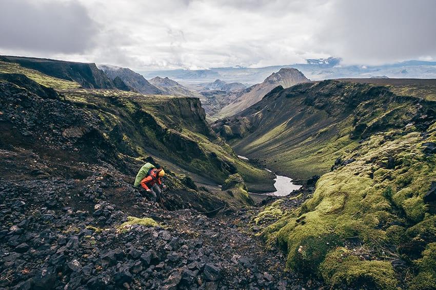 Laugavegur Thorsmork Highlands Iceland