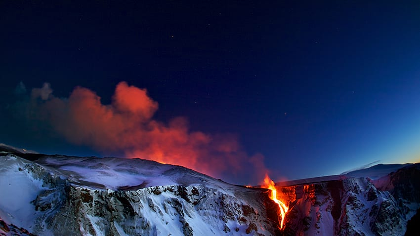 Eyjafjallajokull eruption 2010 South Coast Iceland