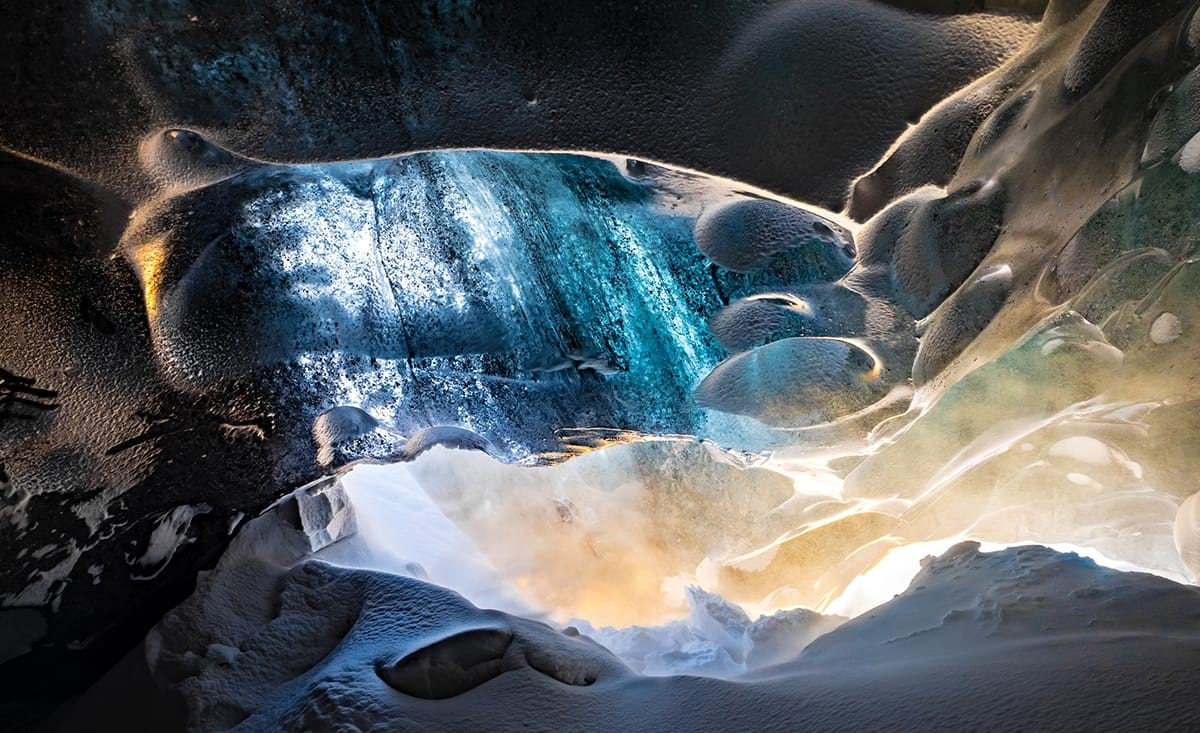 An ice cave experience is something out of this world