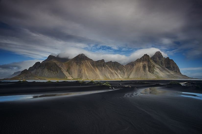 Mountain Vestrahorn has some amazing colours