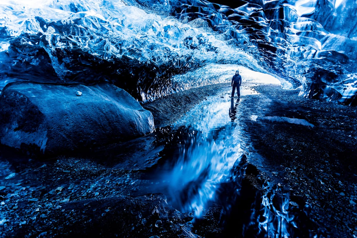 Visiting an Ice Cave is an experience nobody will forget